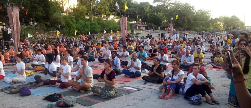 international yoga festival rishikesh